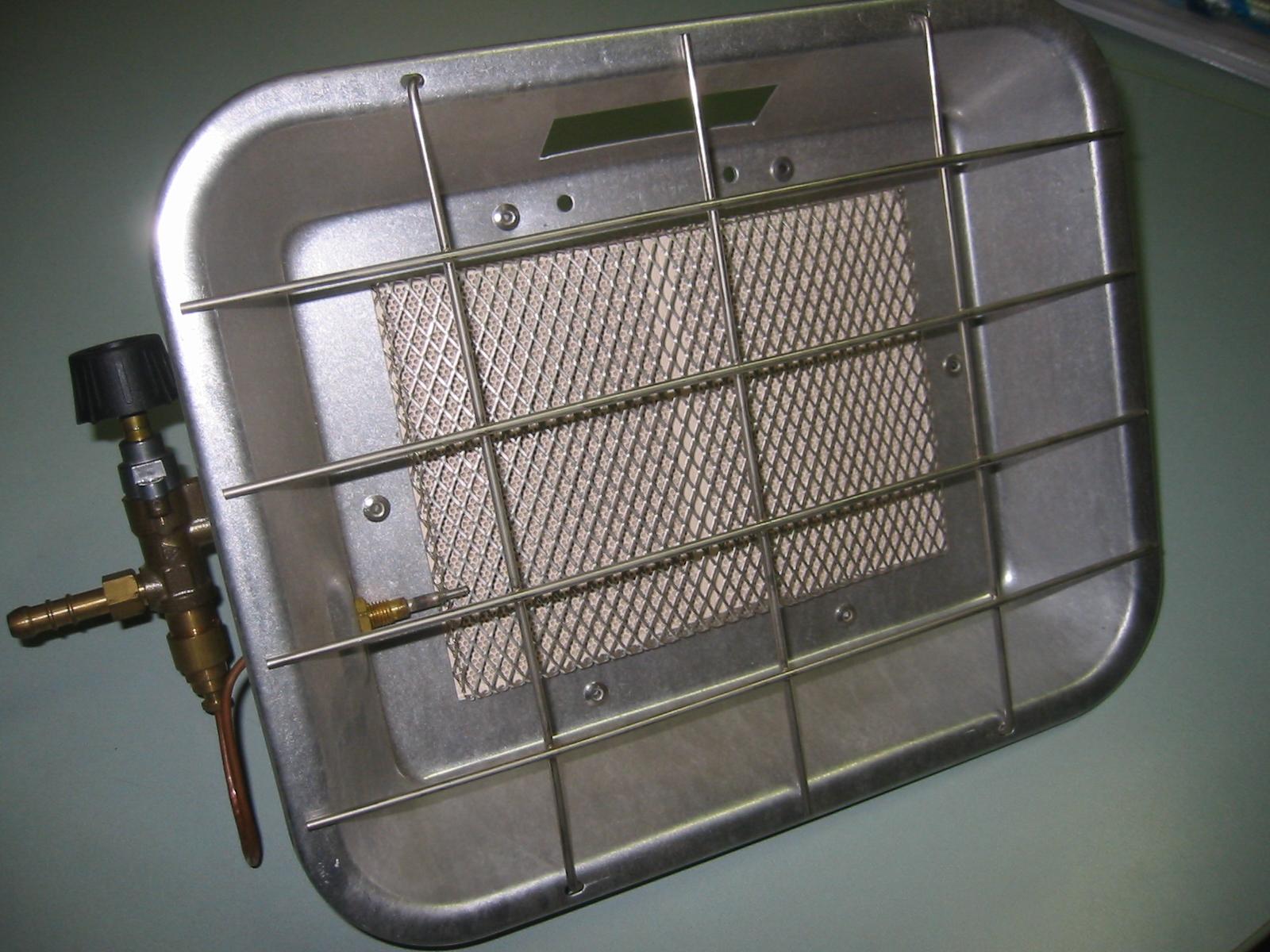 lampada a gas GPL con valvola di sicurezza – Codice 160 V
