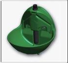 Abbeveratoio in plastica con valvola verticale a spinta – Codice 37 ECY