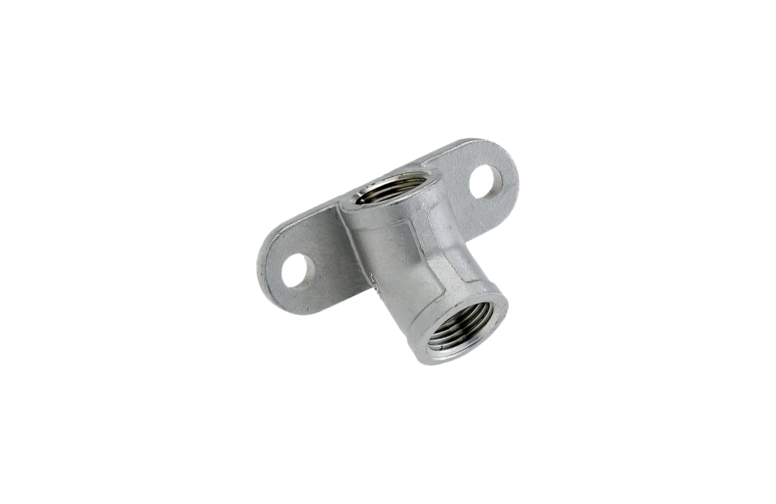 Supporto inox 1/2″ filetto conico – Codice 126 C