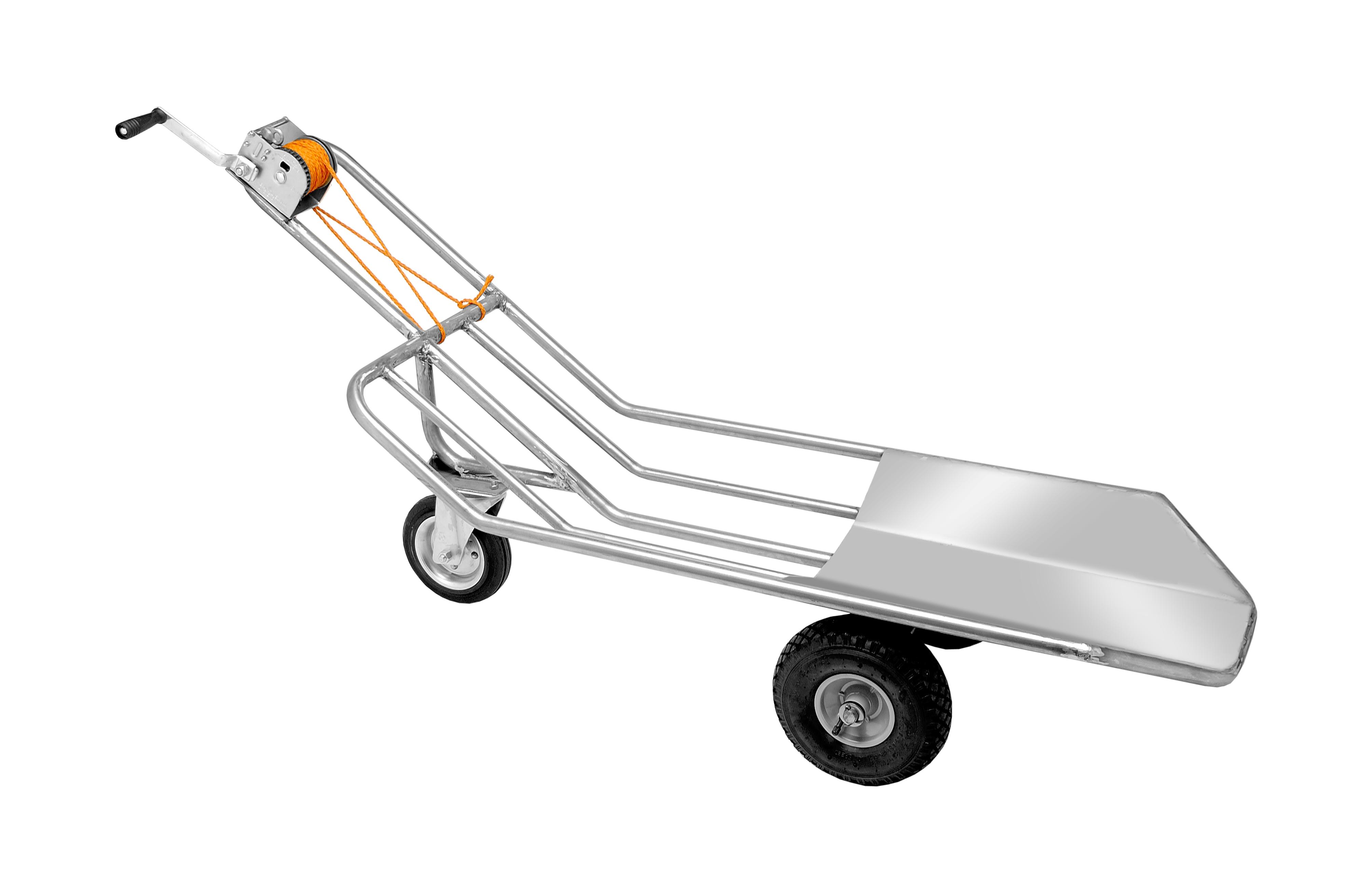 Carrello multi uso trasporto suini in acciaio inox – Codice 395