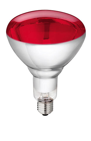 Infrared lamp 250 watt – code 170 EP