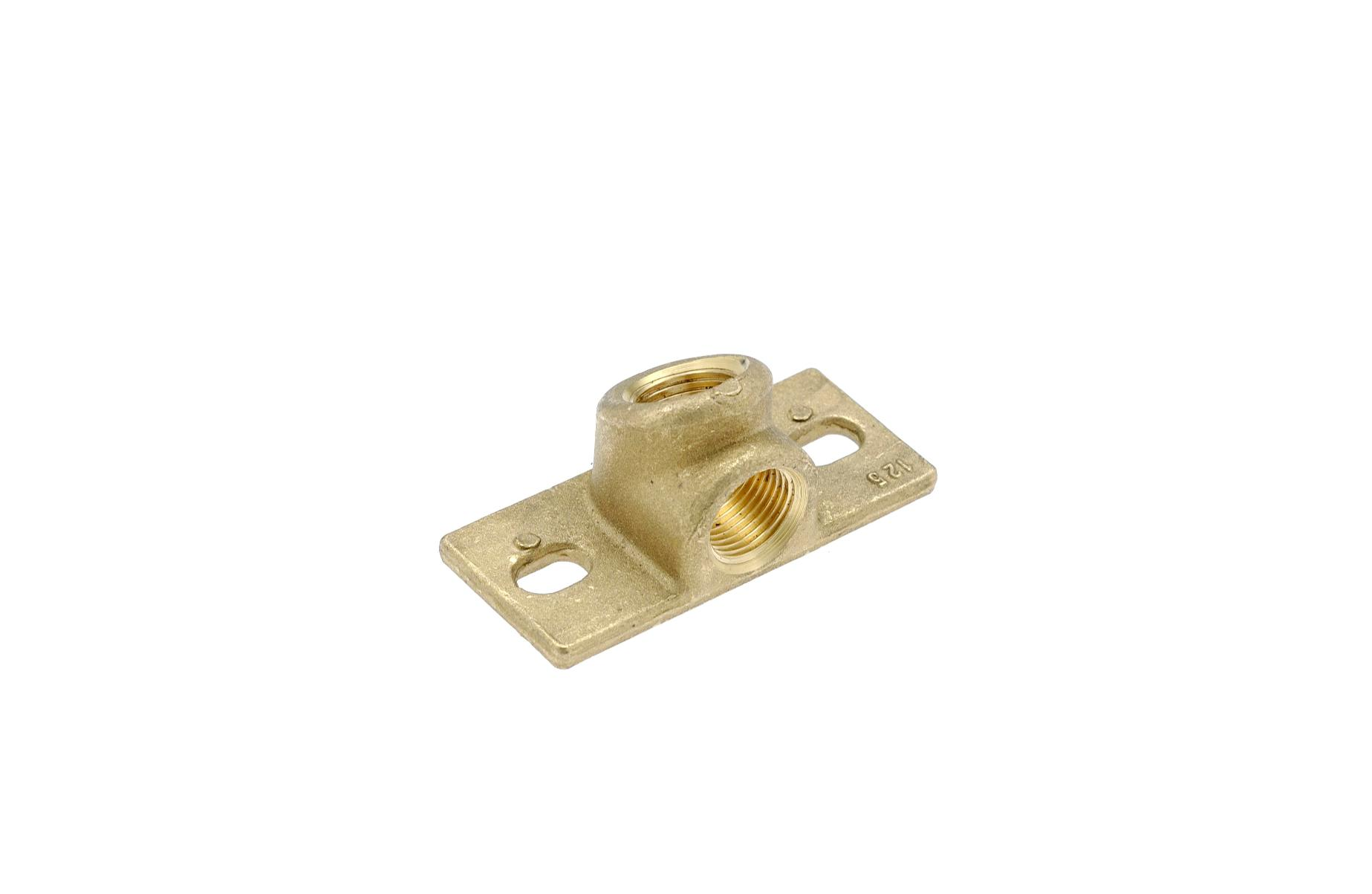 Brass bracket 1/2″ – code 125
